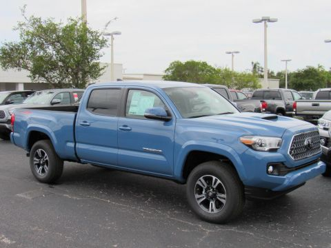 New 2019 Toyota Tacoma 4WD TRD Sport Double Cab 6' Bed V6 AT 4WD