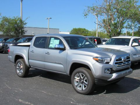 New 2019 Toyota Tacoma 4WD Limited Double Cab 5' Bed V6 AT 4WD