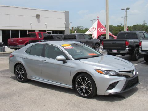 Certified Pre-Owned 2018 Toyota Camry SE Auto (Natl) Front Wheel Drive