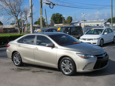 Certified Pre-Owned 2015 Toyota Camry 4dr Sdn I4 Auto SE (Natl) 4dr Sdn I4 Auto SE (Nat Front Wheel Drive