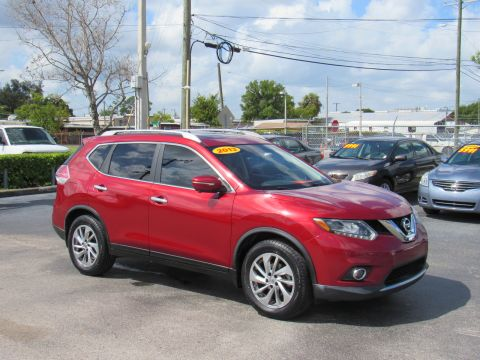 Pre-Owned 2015 Nissan Rogue FWD 4dr SL FWD