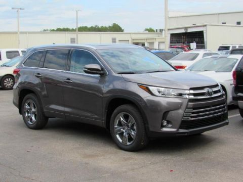 New 2019 Toyota Highlander Limited Platinum V6 AWD AWD
