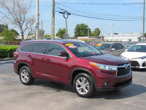 Certified Pre-Owned 2015 Toyota Highlander FWD 4dr V6 XLE (Natl) Front Wheel Drive