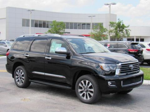 New 2019 Toyota Sequoia Limited RWD (Natl) Rear Wheel Drive