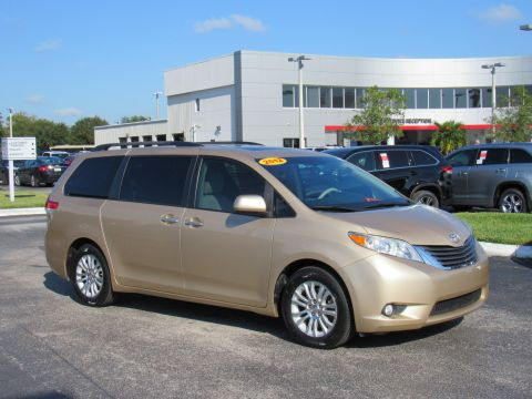 Pre-Owned 2012 Toyota Sienna 5dr 8-Pass Van V6 XLE FWD (Natl)