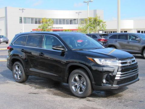 New 2019 Toyota Highlander Limited Platinum V6 FWD FWD