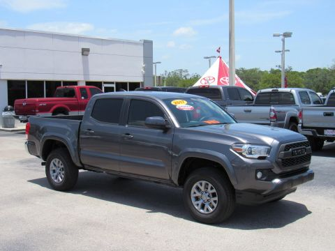 Certified Pre-Owned 2017 Toyota Tacoma SR5 Double Cab 5' Bed V6 4x2 AT (Natl) Rear Wheel Drive