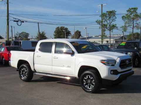 2016 Toyota Tacoma 2WD Double Cab V6 AT SR5 (Natl)