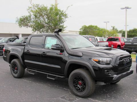 New 2019 Toyota Tacoma 4WD TRD Pro Double Cab 5' Bed V6 AT 4WD