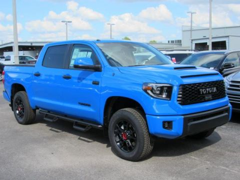 New 2019 Toyota Tundra 4WD TRD Pro CrewMax 5.5' Bed 5.7L With Navigation & 4WD