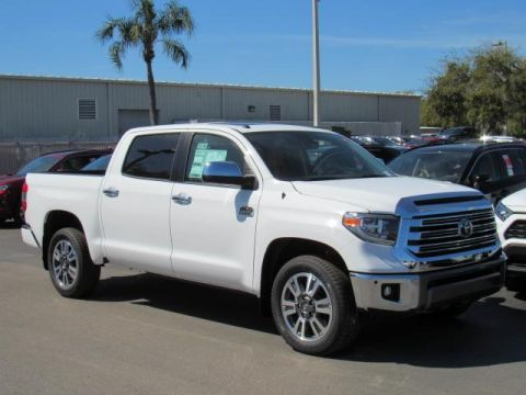 New 2019 Toyota Tundra 2WD 1794 Edition CrewMax 5.5' Bed 5.7L RWD