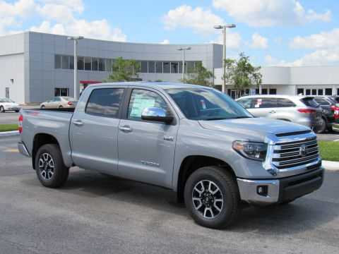 New 2020 Toyota Tundra 4WD Limited CrewMax 5.5' Bed 5.7L 4WD