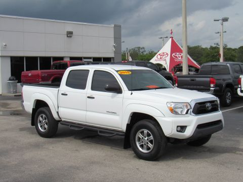 Certified Pre-Owned 2015 Toyota Tacoma 2WD Double Cab V6 AT PreRunner (Natl)
