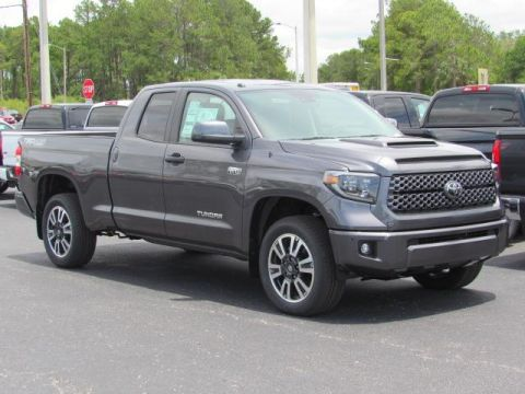 New 2019 Toyota Tundra 4WD SR5 Double Cab 6.5' Bed 5.7L FFV With Navigation & 4WD