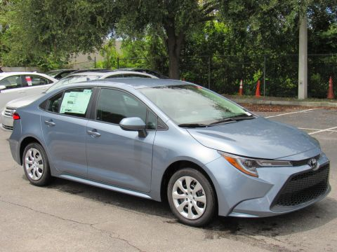 New 2020 Toyota Corolla LE CVT (Natl) Front Wheel Drive
