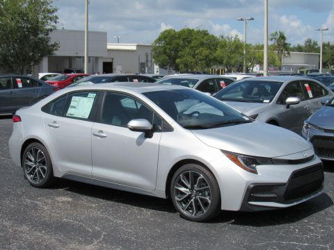 New 2020 Toyota Corolla SE Manual (Natl)