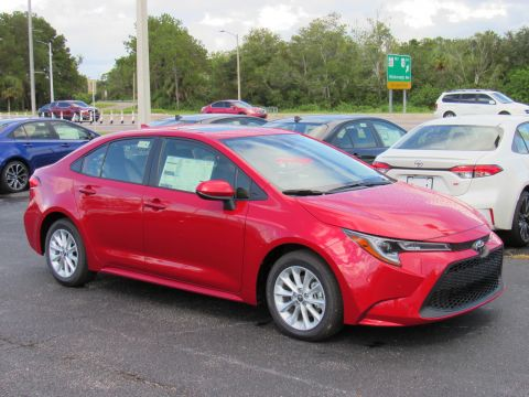 New 2020 Toyota Corolla LE CVT Sedan FWD