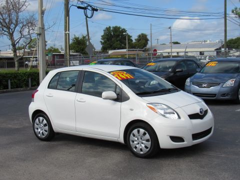Pre-Owned 2009 Toyota Yaris 5dr HB Auto (Natl)
