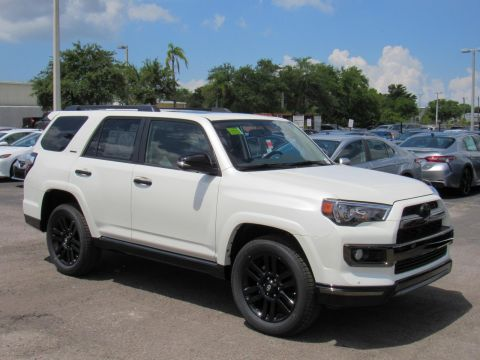 New 2019 Toyota 4Runner Limited Nightshade 4WD 4WD