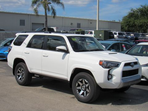 New 2019 Toyota 4runner TRD Off Road Premium 4WD (Natl) With Navigation