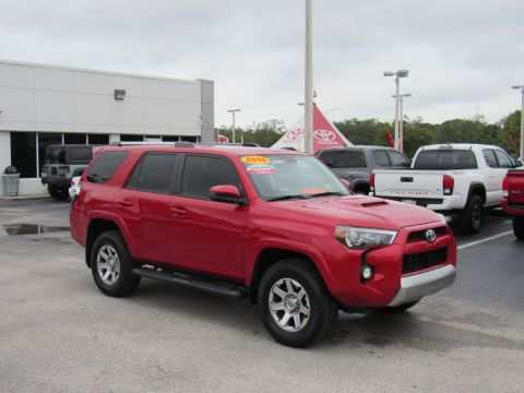Certified Pre-Owned 2016 Toyota 4Runner 4WD 4dr V6 Trail (Natl) Four Wheel Drive