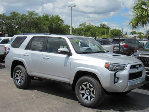 New 2019 Toyota 4Runner TRD Off Road Premium 4WD With Navigation & 4WD