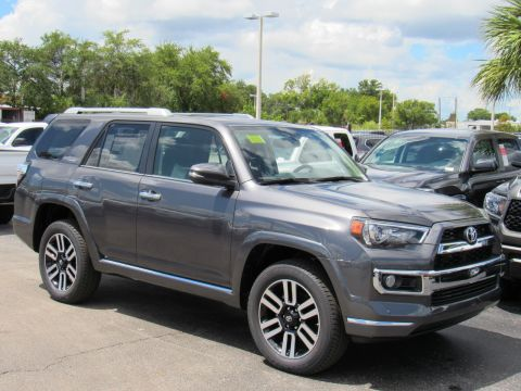 New 2019 Toyota 4Runner Limited 4WD 4WD