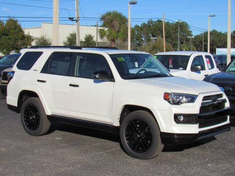 New 2020 Toyota 4runner Nightshade 4WD (Natl) Nightshade 4WD (Natl) Four Wheel Drive