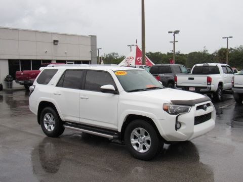 Pre-Owned 2014 Toyota 4Runner RWD 4dr V6 SR5 (Natl) Rear Wheel Drive