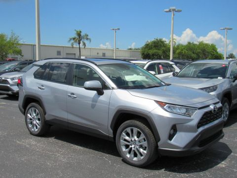 New 2019 Toyota RAV4 XLE Premium AWD (Natl) All Wheel Drive