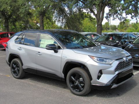 New 2019 Toyota RAV4 Hybrid XSE AWD (Natl) All Wheel Drive