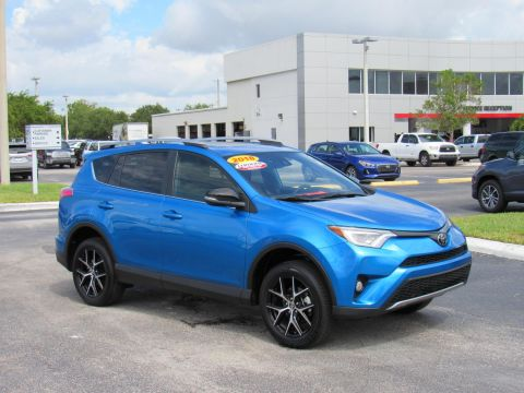 Certified Pre-Owned 2018 Toyota RAV4 SE FWD (Natl) Front Wheel Drive