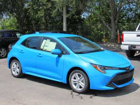 New 2019 Toyota Corolla Hatchback SE CVT (Natl) Front Wheel Drive