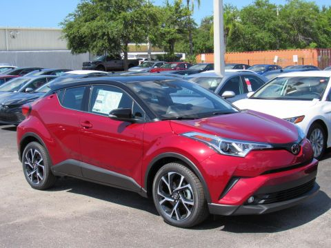 New 2019 Toyota C-HR Limited FWD FWD