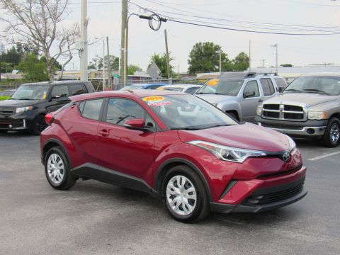 Certified Pre-Owned 2019 Toyota C-HR LE FWD (Natl)