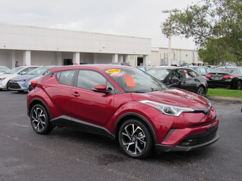 Certified Pre-Owned 2018 Toyota C-HR XLE Premium FWD (Natl) Front Wheel Drive
