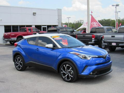 Certified Pre-Owned 2018 Toyota C-HR XLE Premium FWD