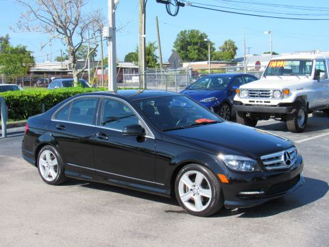 Pre-Owned 2011 Mercedes-Benz C-Class 4dr Sdn C 300 Sport RWD Rear Wheel Drive